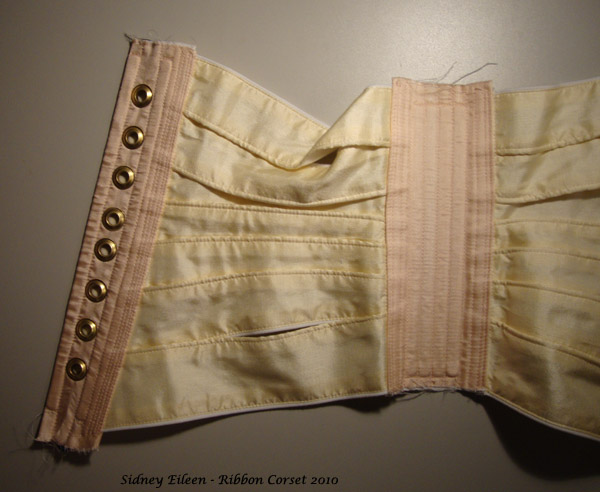 Fabric Based Ribbon Corset Part 3 By Sidney Eileen