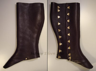 Leather Gaiters - Closed