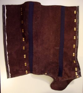 Leather Gaiters - Inside