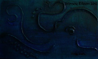 Octopus Miniature Minimalist Painting 2