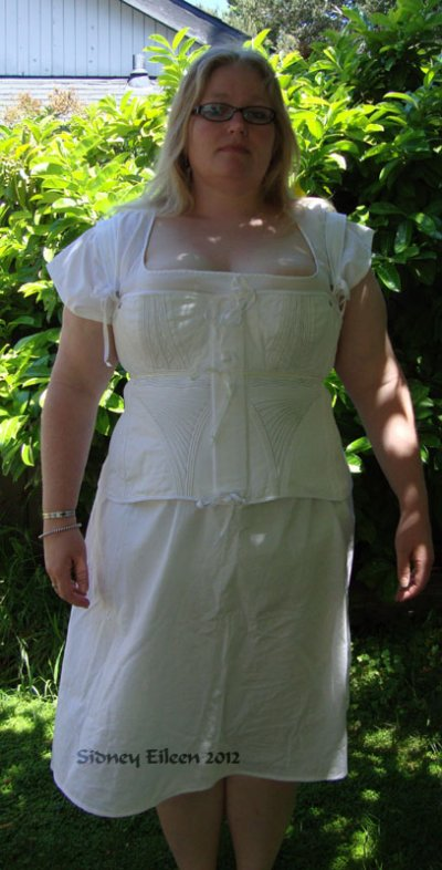 Regency Chemise - Modeled