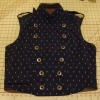 Men's Reversible Vest - Brocade Closed