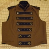 Men's Reversible Vest - Canvas Closed