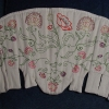 Hand-embroidered corset