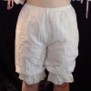 Crotched Cotton Bloomers - Front View