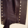 Leather Gaiters - Outside