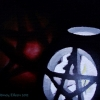 Pentragram Candle and Apple