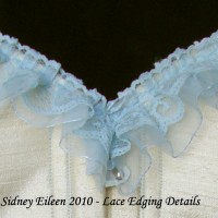 How to Add Lace Edging to a Corset