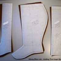 Making Two-Layer Spats or Gaiters