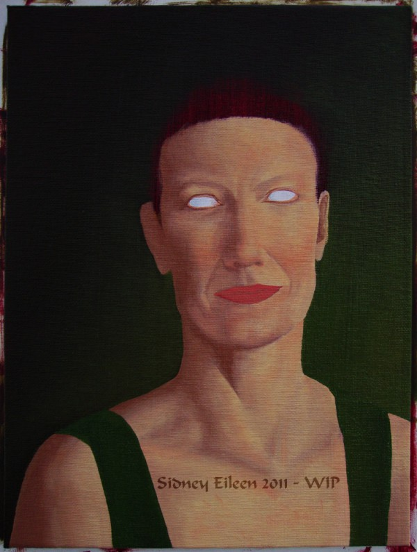 TItle: Diana - WIP 3, Artist: Sidney Eileen