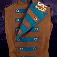 Colorful Violin Vest