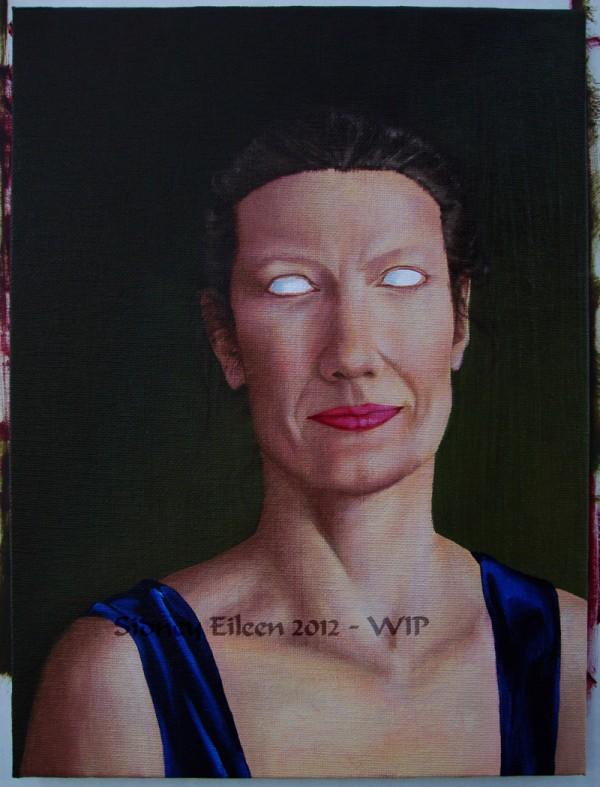 Title: Diana Portrait - WIP5, Artist: Sidney Eileen
