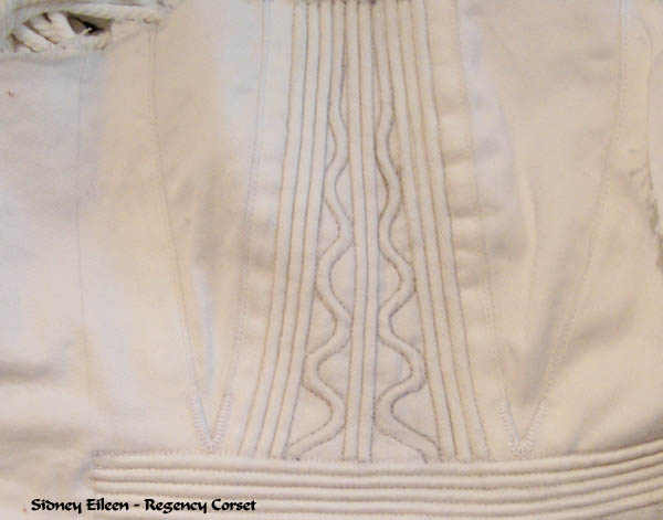 Regency Corset Assembly 22