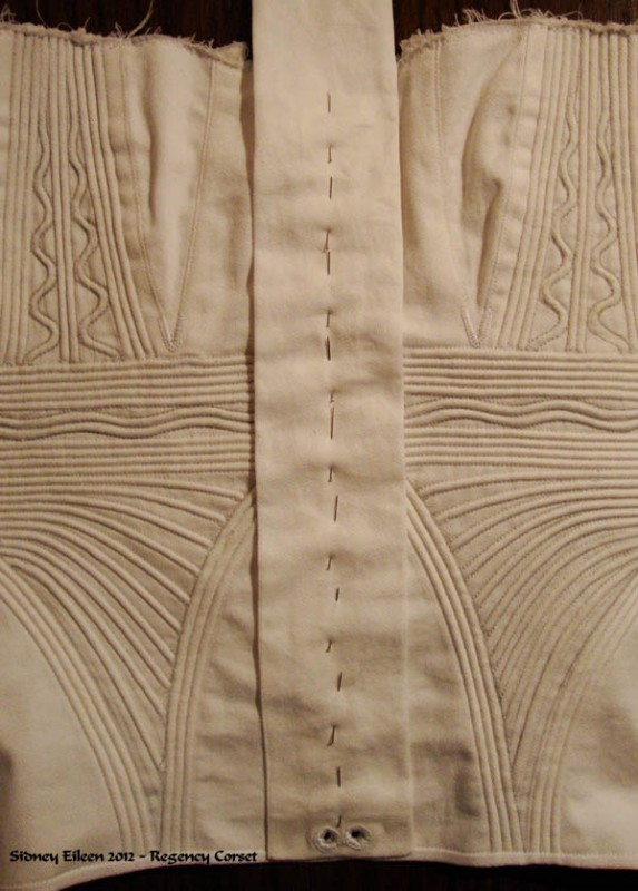 Regency Corset Assembly - 47