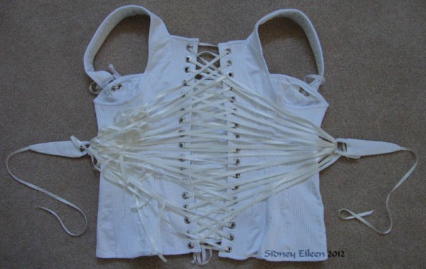Corded Regency Corset - Finished