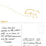 Traces of Fox - MailArt