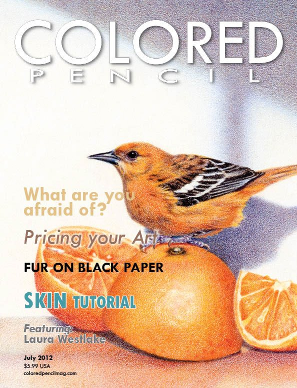COLORED PENCIL Magazine, July 2012