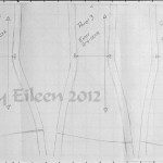 By Sidney Eileen >> Drafting an Underbust Corset From Scale