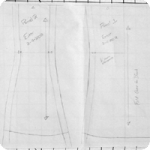 How to Draft an Underbust Corset from Scale