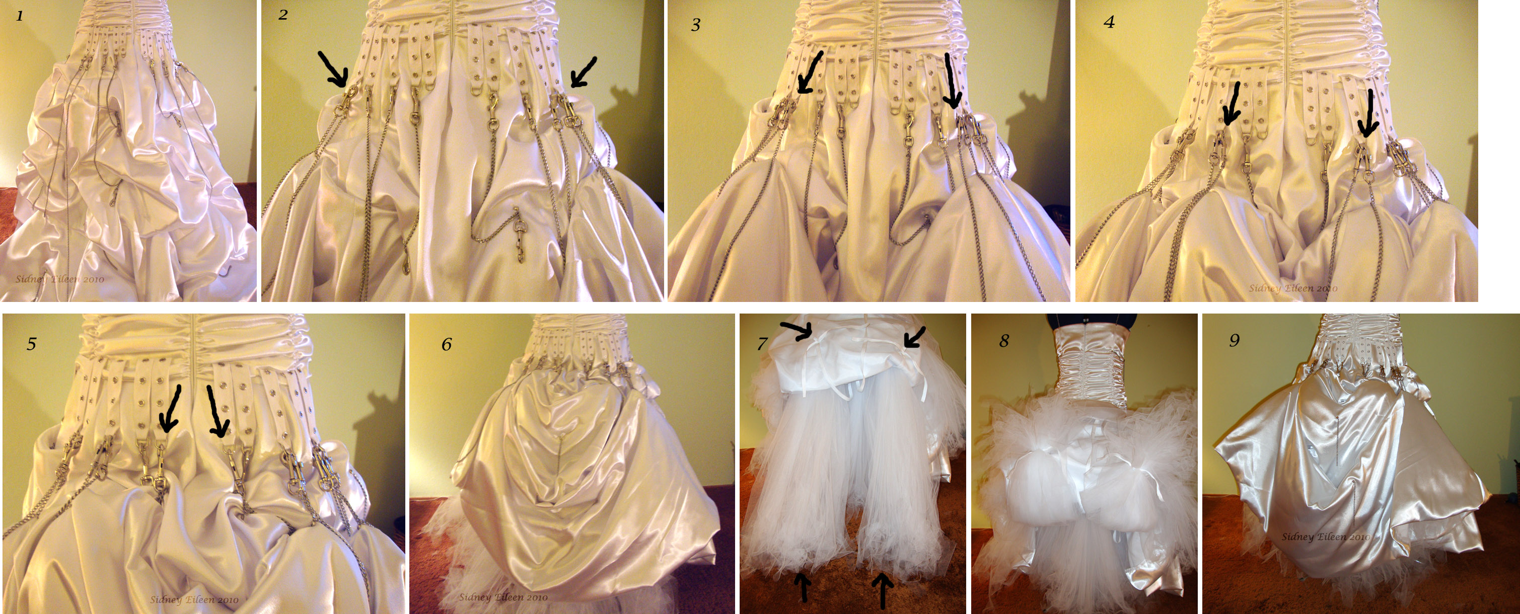 Elegant Punk Rock Wedding Dress - By Sidney Eileen