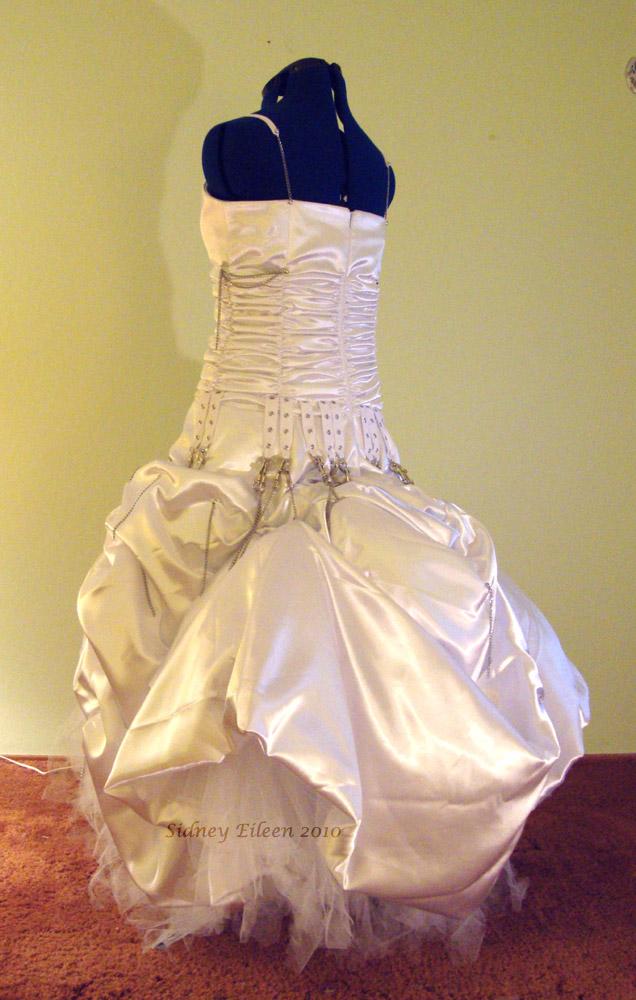 Elegant Punk Rock Wedding Dress By Sidney Eileen