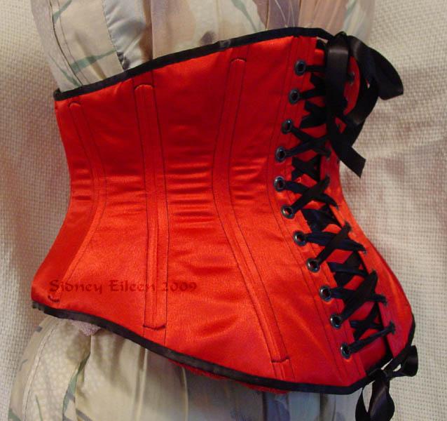 b51611fb5d1 Reversible Waist Cincher - Red Side - Quarter Back View