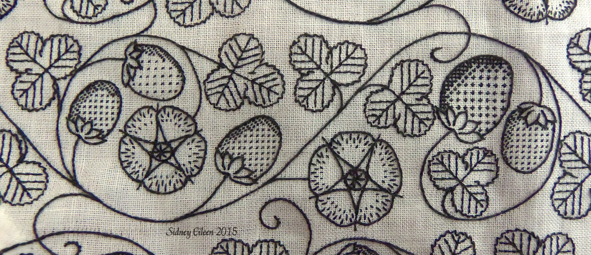 Portfolios - Embroidery And Applique - By Sidney Eileen