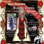 World's Most Beautiful Bustle Dress Contest